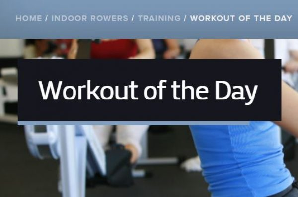 Concept 2 – Workout of the Day