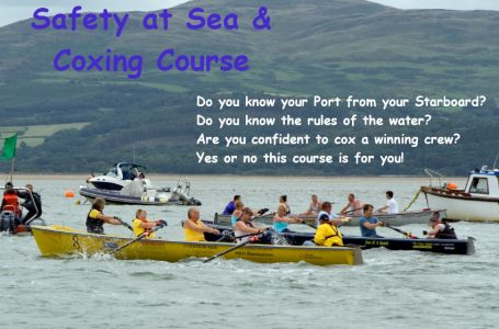 WSR Safety at Sea & Coxing Course